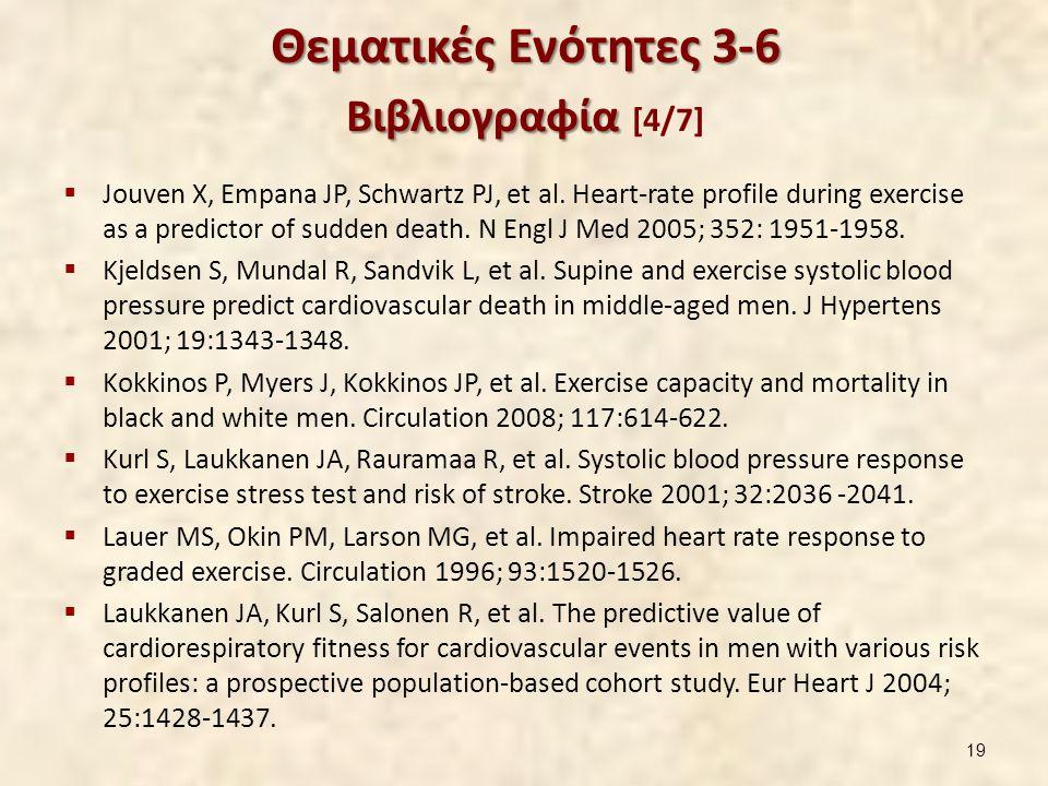 Θεματικές Ενότητες 3-6 Βιβλιογραφία [5/7]